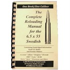 LOADBOOK RELOADING MANUAL/6.5 X 55 SWE