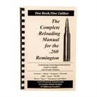 LOADBOOK RELOADING MANUAL/260 REM