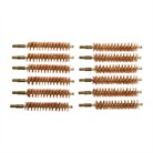 DOZEN PACK BRONZE RIFLE BRUSHES, 45 CA