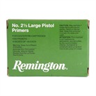 REMINGTON 2 1/2 LARGE PISTOL PRIMERS